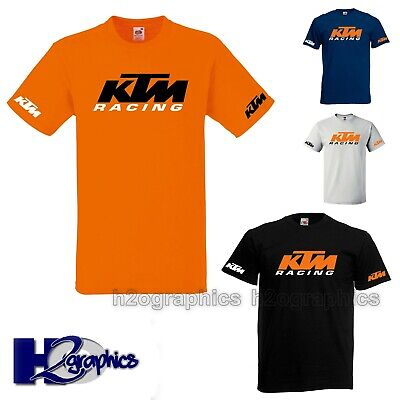 New Mens KTM Racing Tribute T-Shirt Sizes Small to 3XL Choice Of Colours