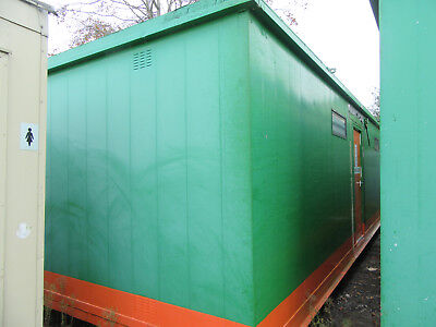 32ft x 12ft ANTIVANDAL CHANGING ROOM, DRYING ROOM, PARTITIONED £3000 + VAT