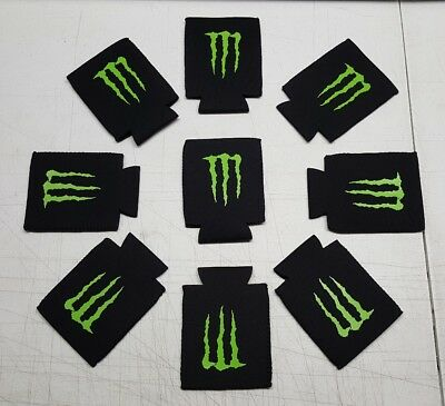 "Monster Energy Drink Logo Claw ""Koozie"" Can Cooler! 5☆ Stocking Stuffer ""NEW"""