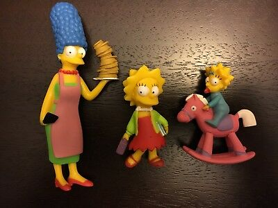 Simpsons Matt Groening 3 Figures 2007