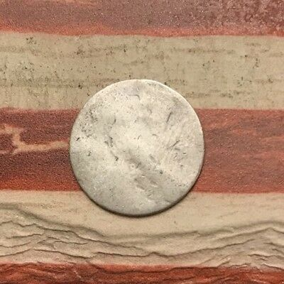 1829-1837 5C Capped Bust Half Dime 90% Silver Vintage US Coin #MP93