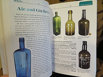 Antique Trader Identification BOTTLES and Price Guide by Michael Polak 6th Edit