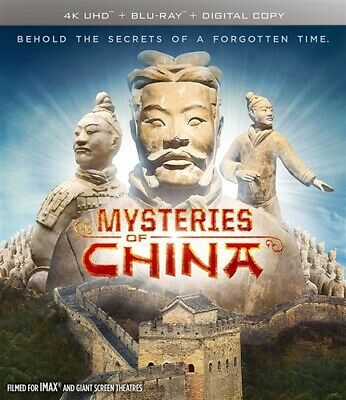 MYSTERIES OF CHINA New Sealed 4K Ultra HD UHD + Blu-ray Documentary