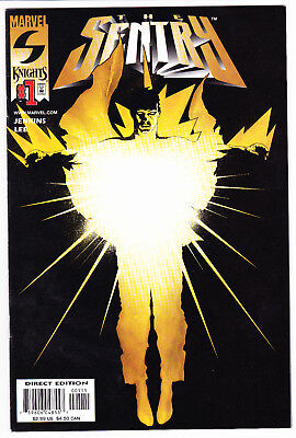 The Sentry #1 2000 First Appearance Of The Sentry Marvel Knights Htf Nice Copy