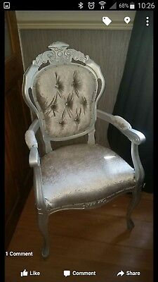 French louis style carver chairs /rococo / italian statement chairs MTO