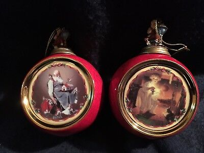 Norman Rockwell's Christmas Classics Heirloom Porcelain Ornament  1999 68903-01