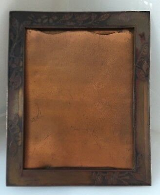 Tiffany Picture Frame, Art Nouveau, 1906, Early Theater, Silent Film, Engraved