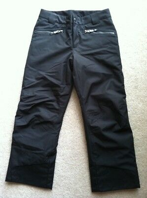 Marmot Boys Girls Youth Insulated Waterproof Snow Ski Outdoor Black Pants L
