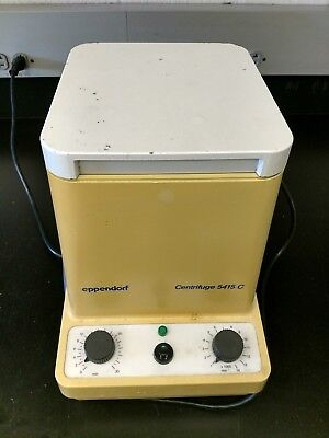 Eppendorf 5415C Benchtop Centrifuge with F-45-18-11 Rotor - Fully Working