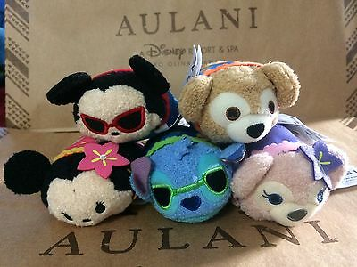 NWT SOLD OUT Complete Set of 5 Disney Hawaii Aulani Resort Exclusive