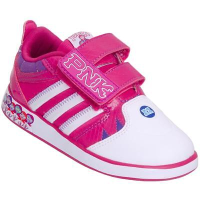adidas girls infants disney monsters comfort g95406 new sizes 4k-9.5k