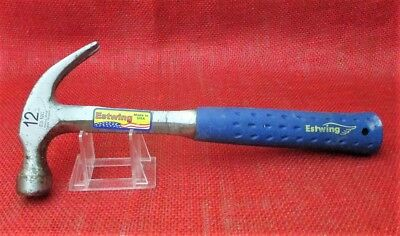 Estwing 12oz. Curved Claw smooth Face Hammer E3 12C , U.S.A.