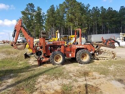 2000 Ditchwitch 7610DD with M710 Ditcher and A620 Backhoe in Good Shape