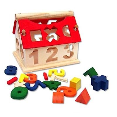 Educational Wodden Toy For Kids Genuine Building Blocs Numbers Arithmetic Signs