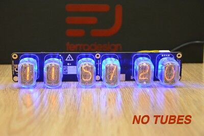 IN-12 Nixie clock PCB by Ferradesign. Assembled, tested PCB WITHOUT TUBES.