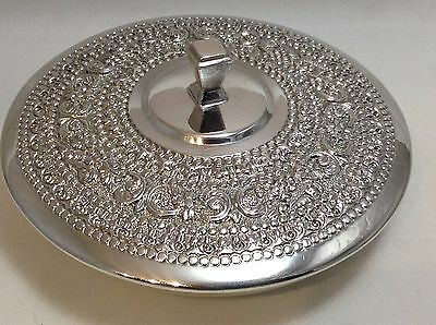 Antique stunning Solid Silver Box/Dish/Bowl 167.4 grams