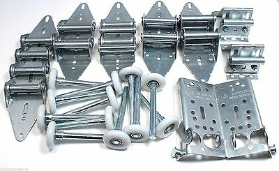 Garage Door Hinge and Roller Tune Up Kit for 8' X 8' and 9' X 8' with Options