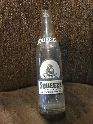 Squeeze 10 Ozs Pop Bottle