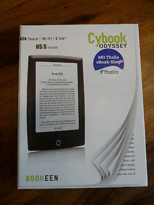 Ebook Reader - Cybook Odyssey Bookeen - Thalia + Booklet in braun