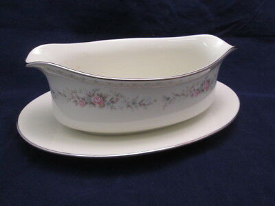 Jaime by Royal Song Gravy Boat Beautiful Floral on Ivory China 8002-A