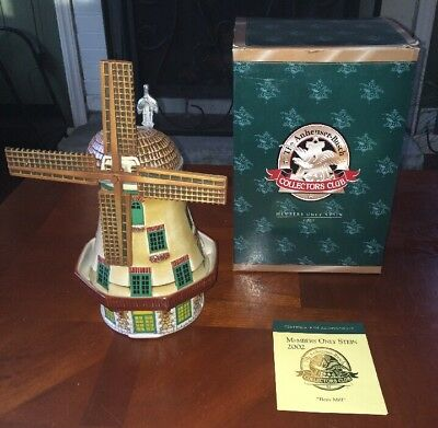 Anheuser Busch Budweiser collectors club Bevo Mill 2002 Members Only NIB W/ COA