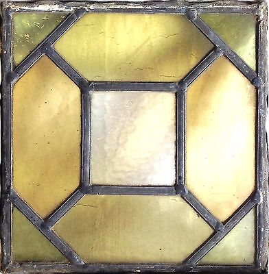 """Antique Victorian Stained Glass Window. 8"""" x 8"""". Price per each. 4 to sell."""