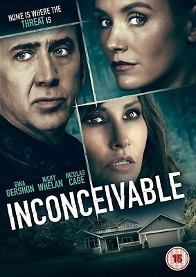 INCONCEIVABLE Gina Gershon Nicolas Cage Nicky Whelan DVD in Inglese NEW .cp