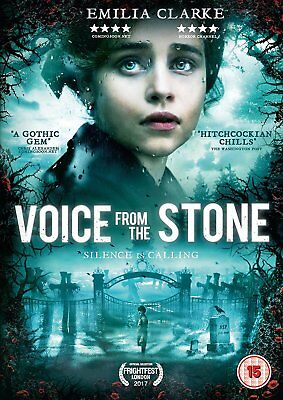 VOICE FROM THE STONE Emilia Clarke DVD in Inglese NEW .cp