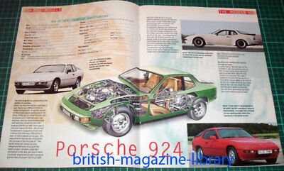 1976 Porsche 924 - Technical Cutaway Drawing