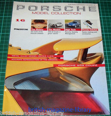 Porsche Model Collection #16 - 356 B Coupe: a great 'classic' + cutaway drawing