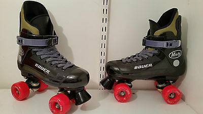 Bauer classic quad roller skate size 7,7.5,8 Krypto/Sims,Not Bauer Turbo 33,