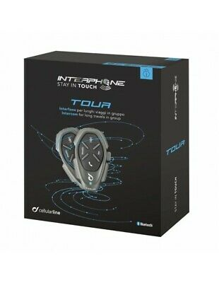 RXAU Tour twin pack Interphone Cellularline