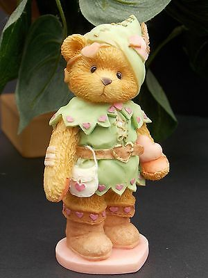 Cherished Teddies Figurine Enesco 1995 ROBIN Hood Outfit Steal Hearts #156434