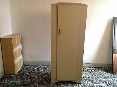 Vintage Limed Oaf Effect Retro wardrobe, Ideal For Shabby Chic Project