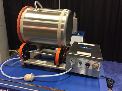 New Meat Poultry Programmable Vacuum Tumbler, Marinator Meat Mixer 55 Lbs 110 V