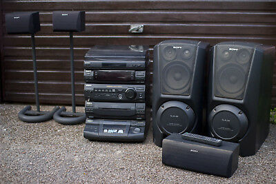Sony XB8AV Home Cinema 5.1 Surround Sound System With Speakers & Stands
