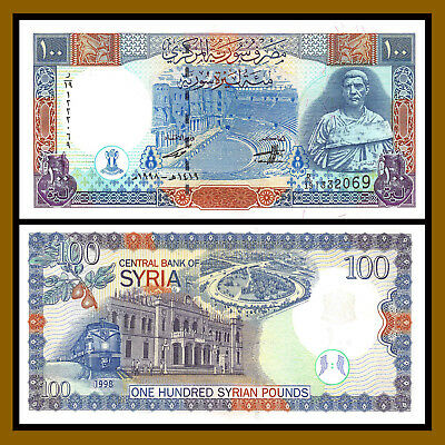 Syria 100 Pounds, 1998 P-108 Unc