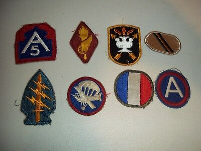Wwi Wwii Korean War Vietnam Us Army Patch Lot #143