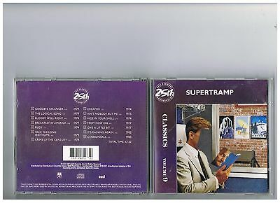 Supertramp  Cd . ..classics. Greatest Hits..the Very Best Of..rare