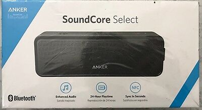 NEW in Box Anker SoundCore Select Bluetooth Speaker A3106H11 24 Hr Playtime 66Ft