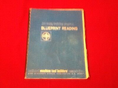 Vintage Blueprint Reading Manual 1966 For Machine Tool Builders Job Entry