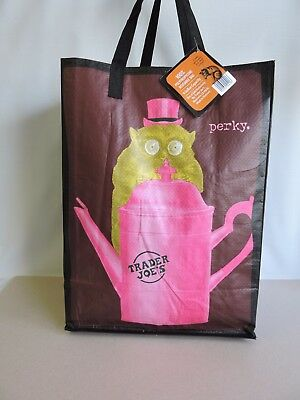 Trader Joes Perky Uni-Corny Bag Grocery Shopper Tote New with Tags (314