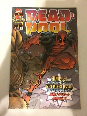 "Deadpool #1 (Vol. 2) ""Hey, It's Deadpool!"" - 1997 midgrade comic"