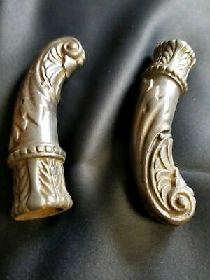 Antique Cast iron french door knobs/pulls