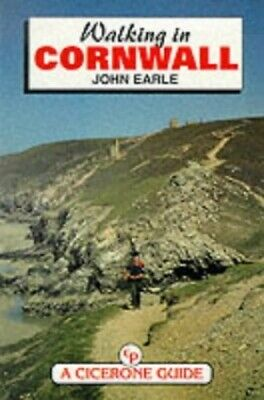 Walking in Cornwall (County) by Earle, John Paperback Book The Cheap Fast Free