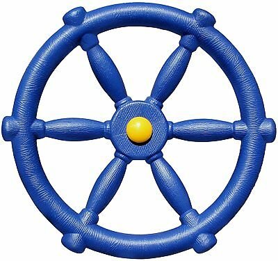 Pirate Ships Wheel cubby house playground- Blue