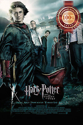 New Harry Potter And The Goblet Of Fire Movie Film Original Print Premium Poster