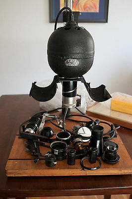 Large lot of Vintage Photo equipment Zeiss lens. Leitz enlarger, LOTS MORE!