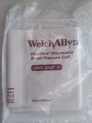 Welch Allyn Blood Pressure Cuff, Adult Size 12 - Reference: 901044