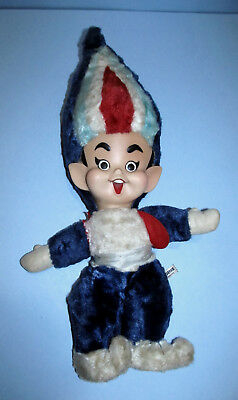 "RARE 20"" Union 76 Gas Genie Plush Doll Toy Gene Hazelton Rushton Rubber Face!"